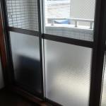 ガラス窓の交換